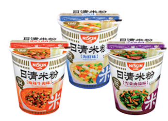 Launch of Nissin Rice Vermicelli Cup