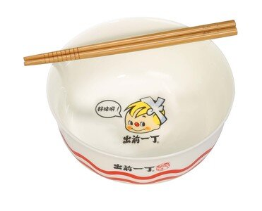 Special Demae Iccho Bowl with Chopsticks