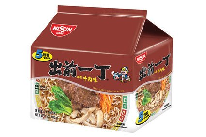 Demae Iccho 5-Pack Five Spice Beef Flavour
