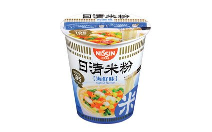 Nissin Rice Vermicelli Cup Type Seafood Flavour