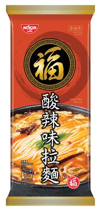 Fuku Bar Noodles (Pack) Sour and Hot Flavour