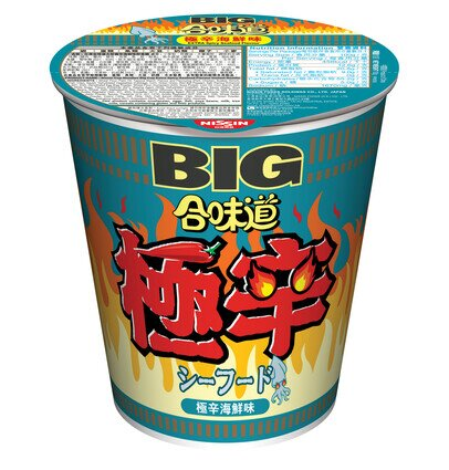 Cup Noodles Big Cup  Extra Spicy Seafood Flavour